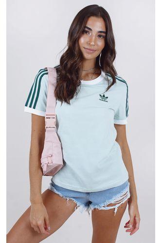 camiseta-adidas-3-stripes-tee-verde-agua