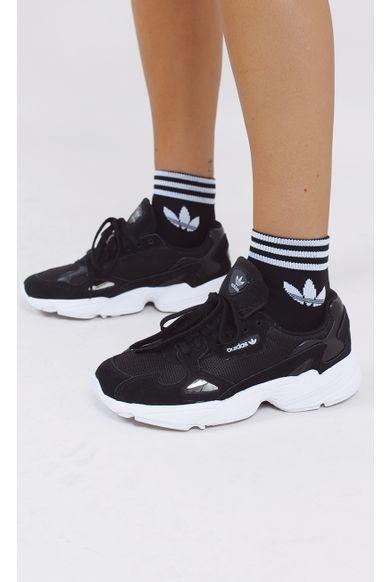 kit-meia-adidas-trefoil-ankle-preto