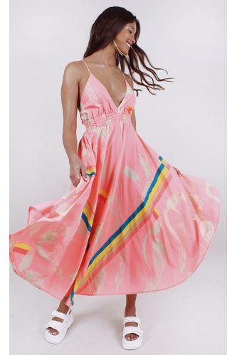 vestido-farm-cropped-tucanos-rosa