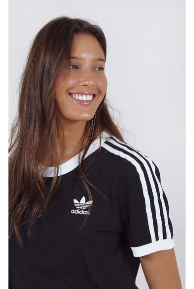 camiseta-adidas-3-stripes-tee-new-preto