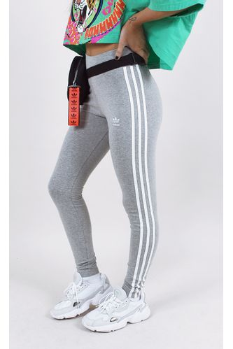 calca-adidas-tight-3-stripes-cinza