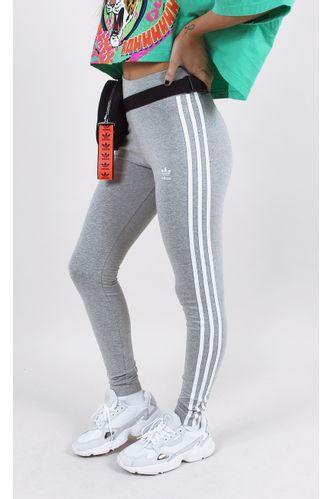 calca-adidas-tight-3-stripes-cinza