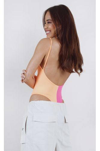 body-dotty-bicolor-neon-laranja