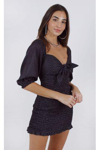 vestido-poa-manga-bufante-w--laco-preto