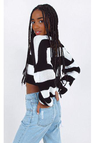 tricot-yanna-cropped-listrado-preto
