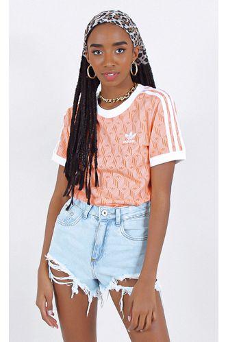 camiseta-adidas-3-stripes-new-tee-laranja