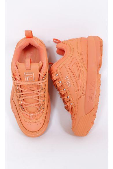 tenis-fila-disruptor-II-premium-laranja