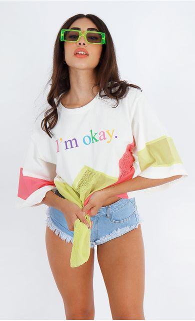 t--shirt-im-okay-mix-de-tecidos-off-white