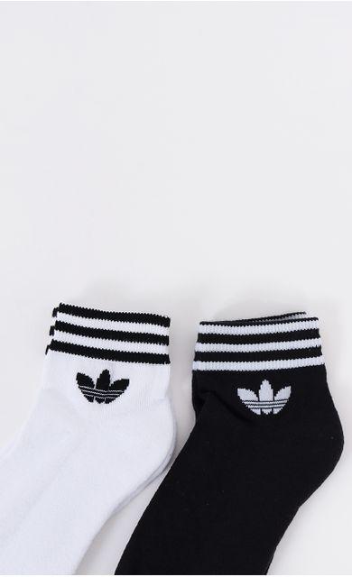 kit-meia-adidas-ankle-trefoil-opp-branco