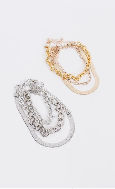 kit-de-pulseiras-chain-prata