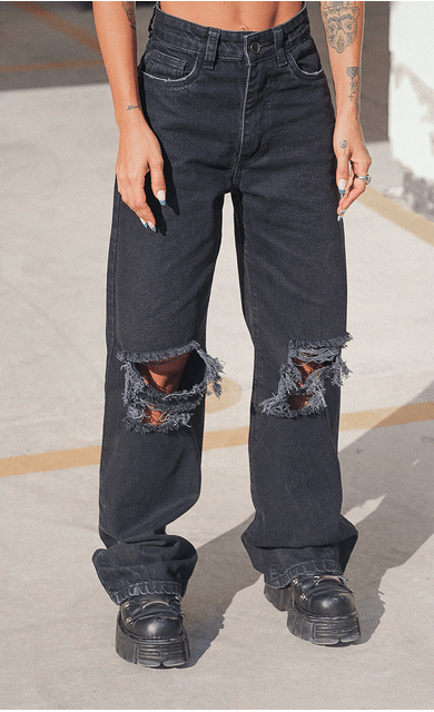 calca-hazy-destroyed-jeans-preto
